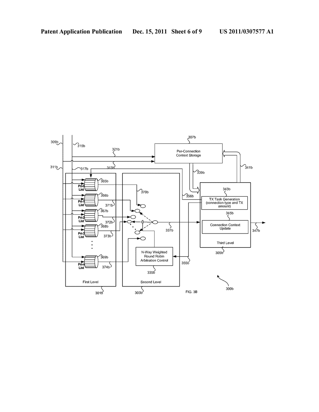 METHOD AND SYSTEM FOR TRANSMIT SCHEDULING FOR MULTI-LAYER NETWORK     INTERFACE CONTROLLER (NIC) OPERATION - diagram, schematic, and image 07