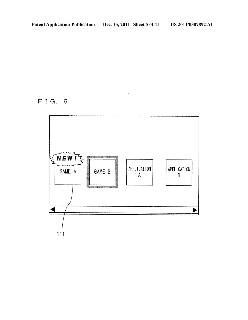 PORTABLE INFORMATION TERMINAL, COMPUTER-READABLE STORAGE MEDIUM HAVING     STORED THEREON PORTABLE INFORMATION TERMINAL CONTROL PROGRAM, PORTABLE     INFORMATION SYSTEM, AND PORTABLE INFORMATION TERMINAL CONTROL METHOD - diagram, schematic, and image 06