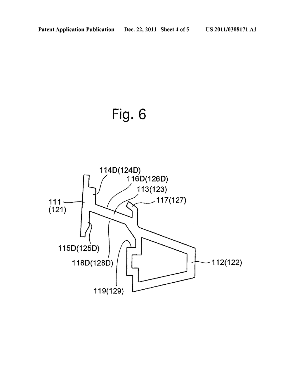 VEHICLE DOOR FRAME AND METHOD OF PRODUCING THE SAME - diagram, schematic, and image 05