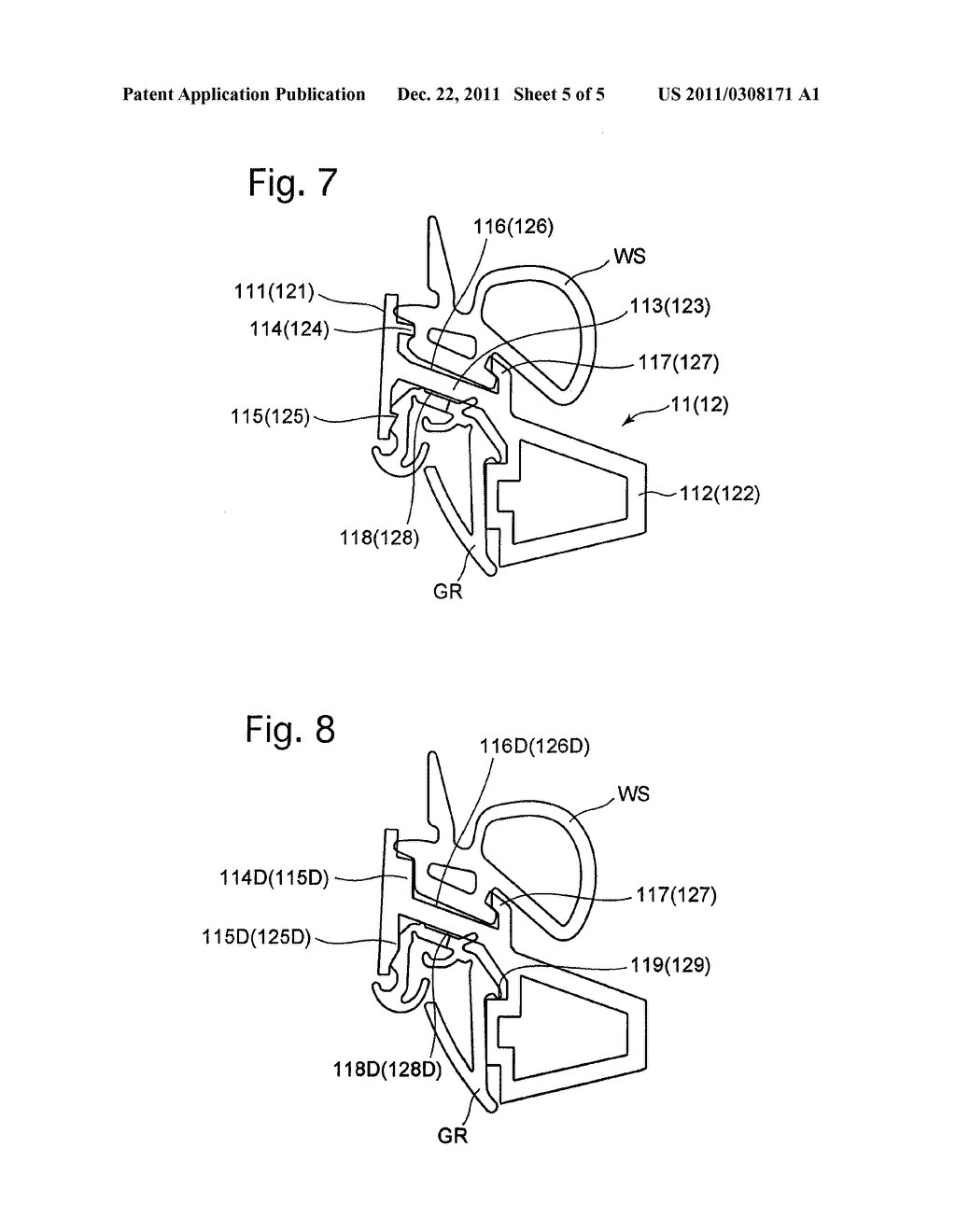 VEHICLE DOOR FRAME AND METHOD OF PRODUCING THE SAME - diagram, schematic, and image 06
