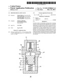 Pressure regulating valve diagram and image