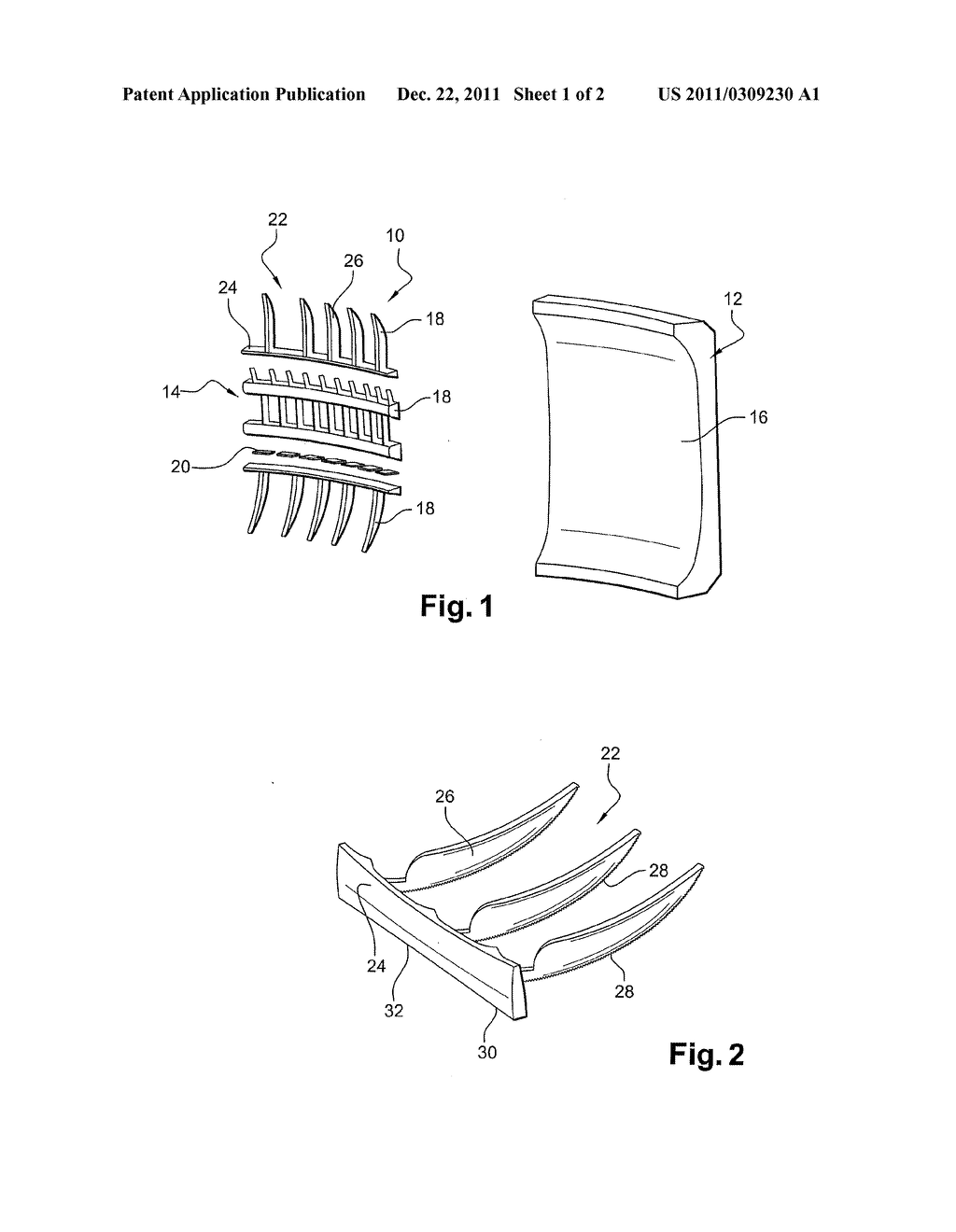 METHOD OF MANUFACTURING A LINING ELEMENT AND A SUPPORT ELEMENT WHICH ARE     INTENDED FOR A TIRE MOULD - diagram, schematic, and image 02