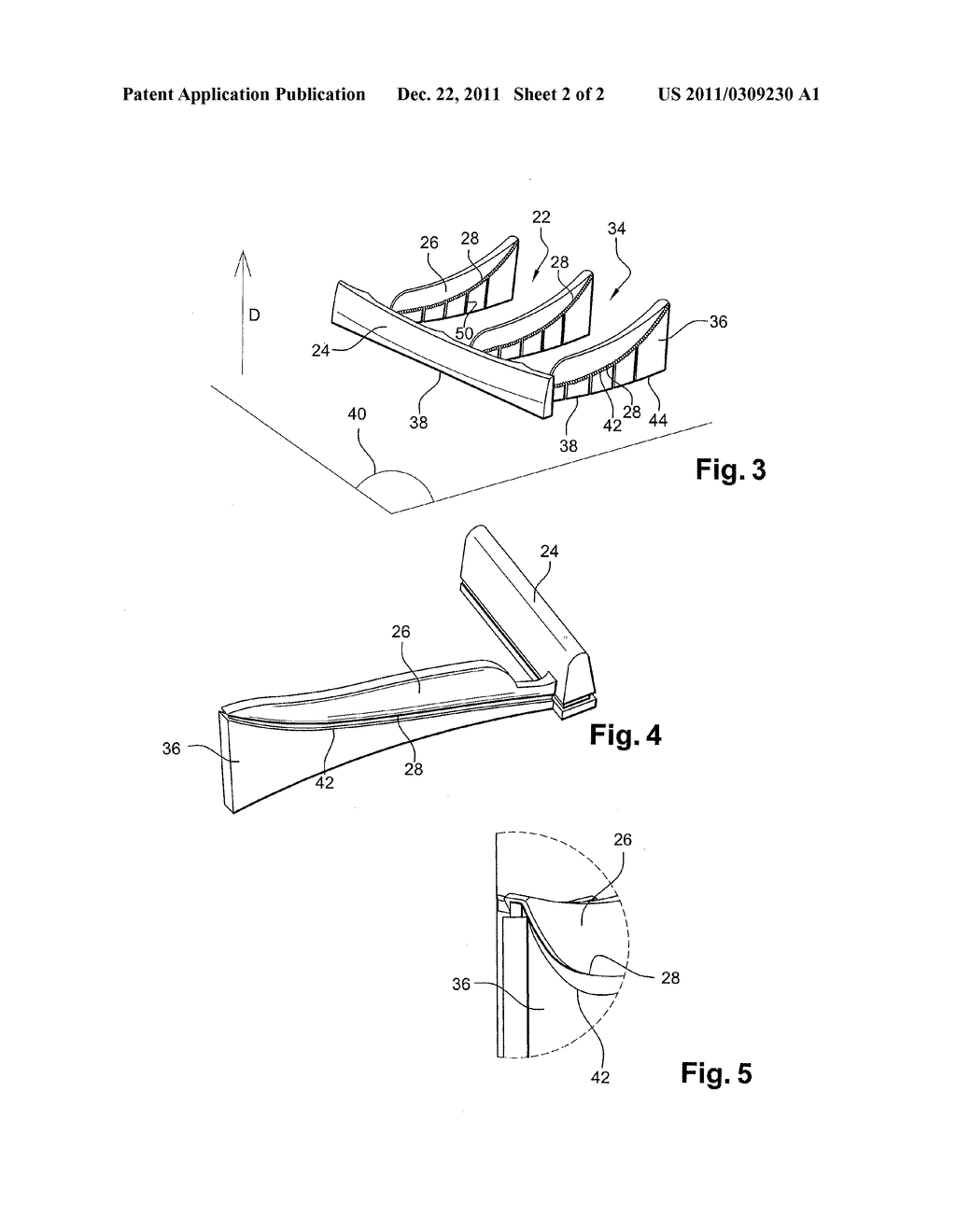 METHOD OF MANUFACTURING A LINING ELEMENT AND A SUPPORT ELEMENT WHICH ARE     INTENDED FOR A TIRE MOULD - diagram, schematic, and image 03