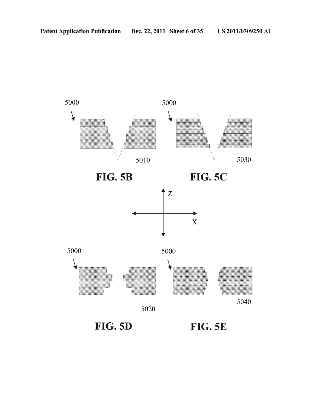 Methods for Manufacturing Three-Dimensional Devices and Devices Created     Thereby - diagram, schematic, and image 07
