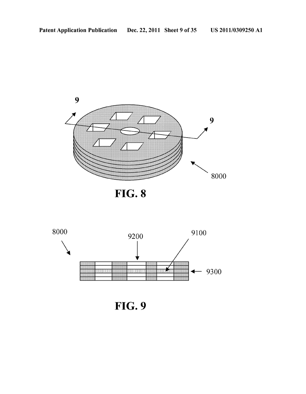Methods for Manufacturing Three-Dimensional Devices and Devices Created     Thereby - diagram, schematic, and image 10