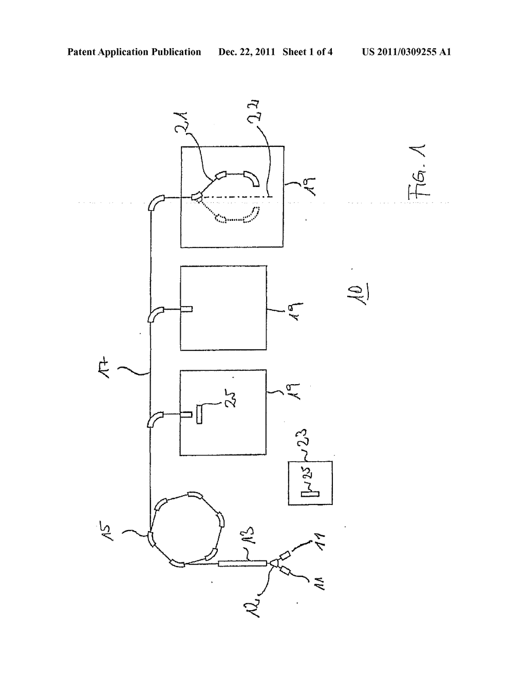Apparatus and Method for Evaluating an Activity Distribution, and     Irradiation System - diagram, schematic, and image 02