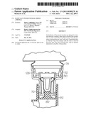 FLOW VALVE WITH INTEGRAL SPRING AND SEAL diagram and image
