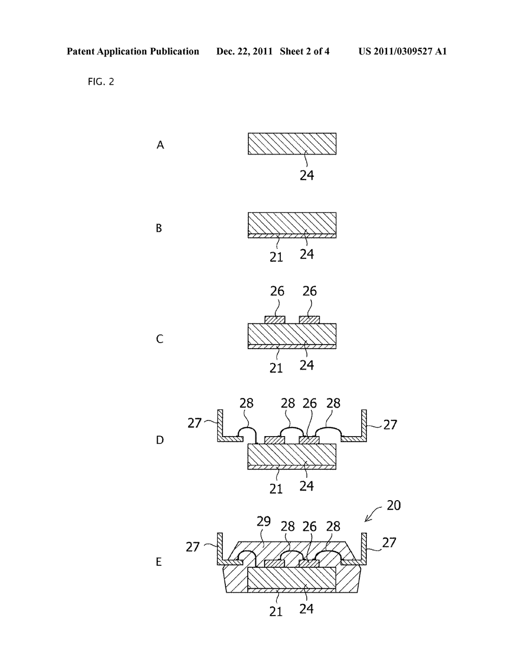 INSULATING MEMBER, METAL BASE SUBSTRATE, AND SEMICONDUCTOR MODULE, AND     MANUFACTURING METHODS THEREOF - diagram, schematic, and image 03