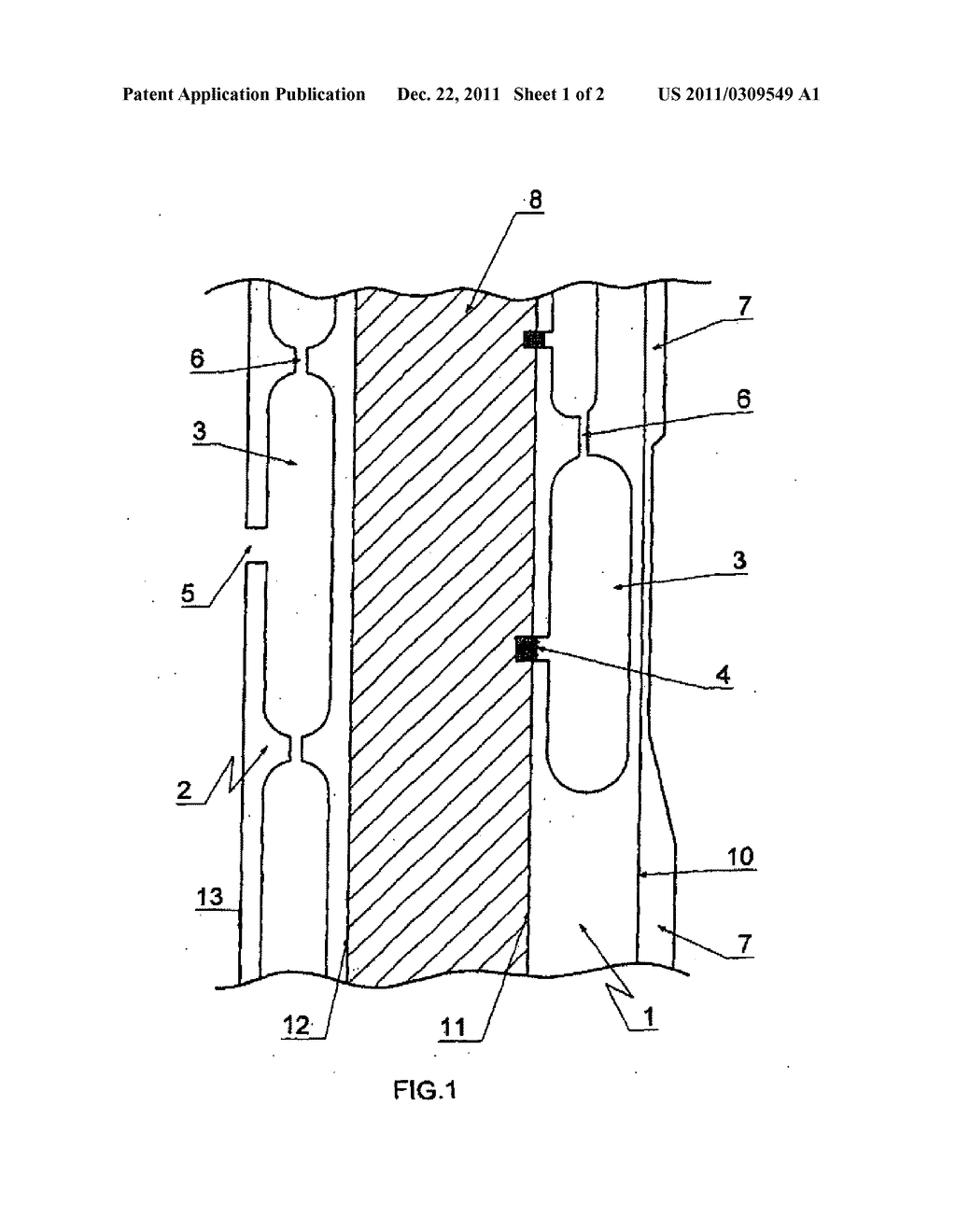 MOLD, DEVICE AND METHOD  FOR PRODUCING MOLDED SKINS AND MOLDED BODIES MADE     OF PLASTIC - diagram, schematic, and image 02