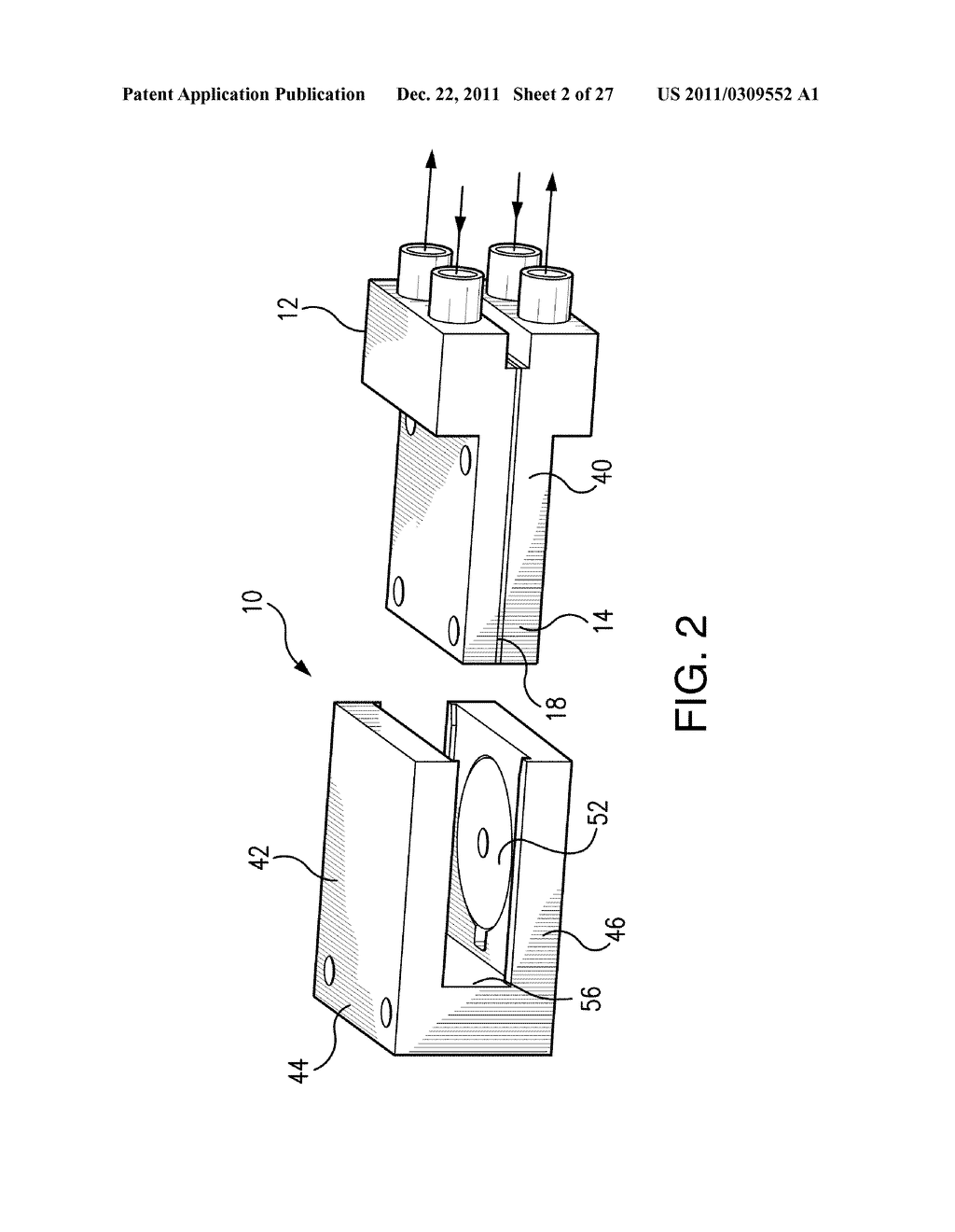 Method of Making a Membrane for Use with a Flow Control System for a     Micropump - diagram, schematic, and image 03