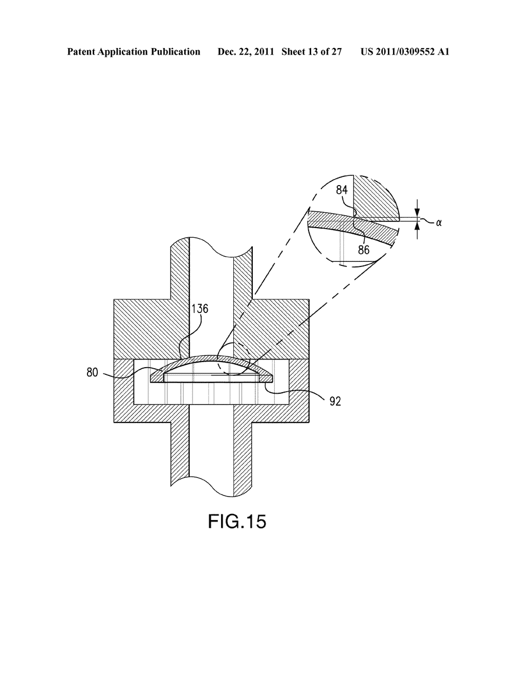 Method of Making a Membrane for Use with a Flow Control System for a     Micropump - diagram, schematic, and image 14