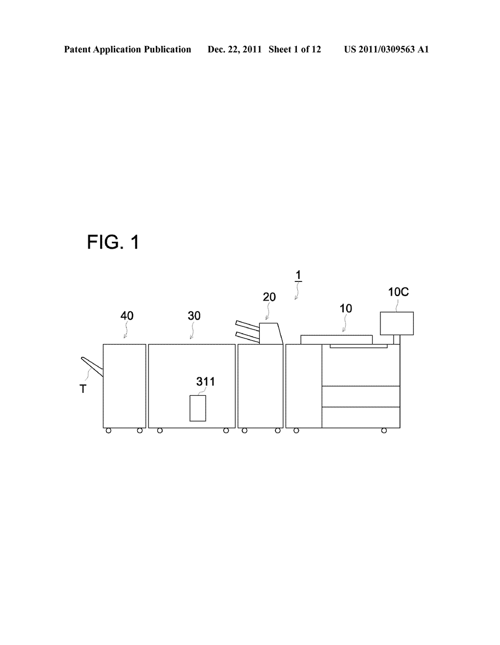 POST FINISHING DEVICE AND IMAGE FORMING SYSTEM USING THE SAME - diagram, schematic, and image 02