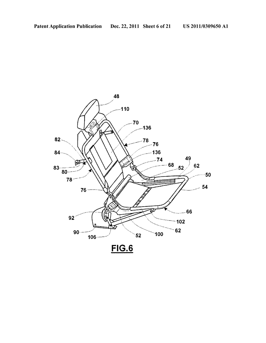 COLLAPSIBLE SEAT - diagram, schematic, and image 07