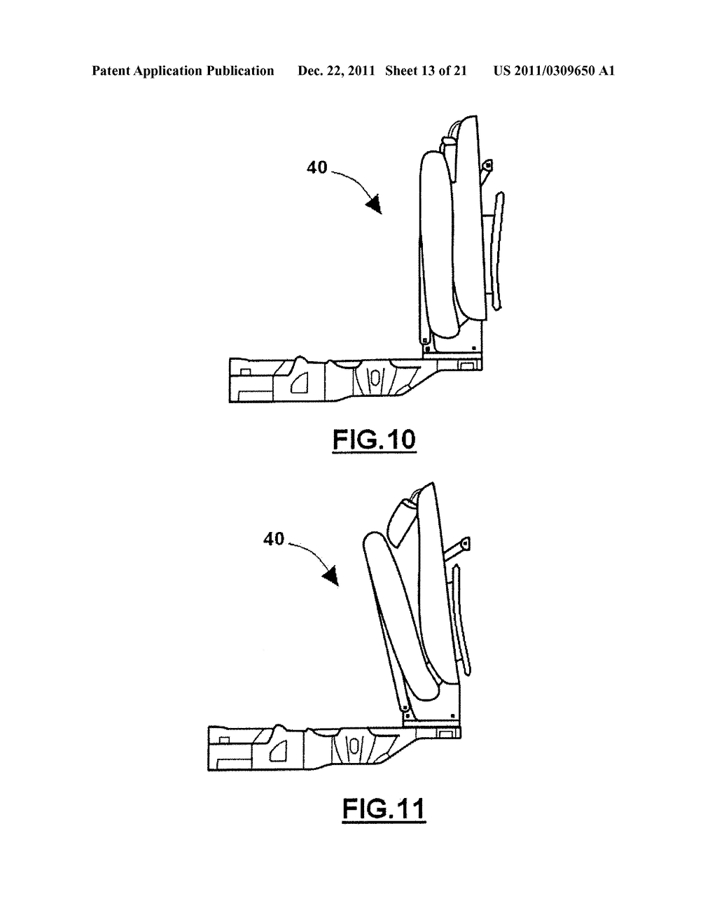COLLAPSIBLE SEAT - diagram, schematic, and image 14