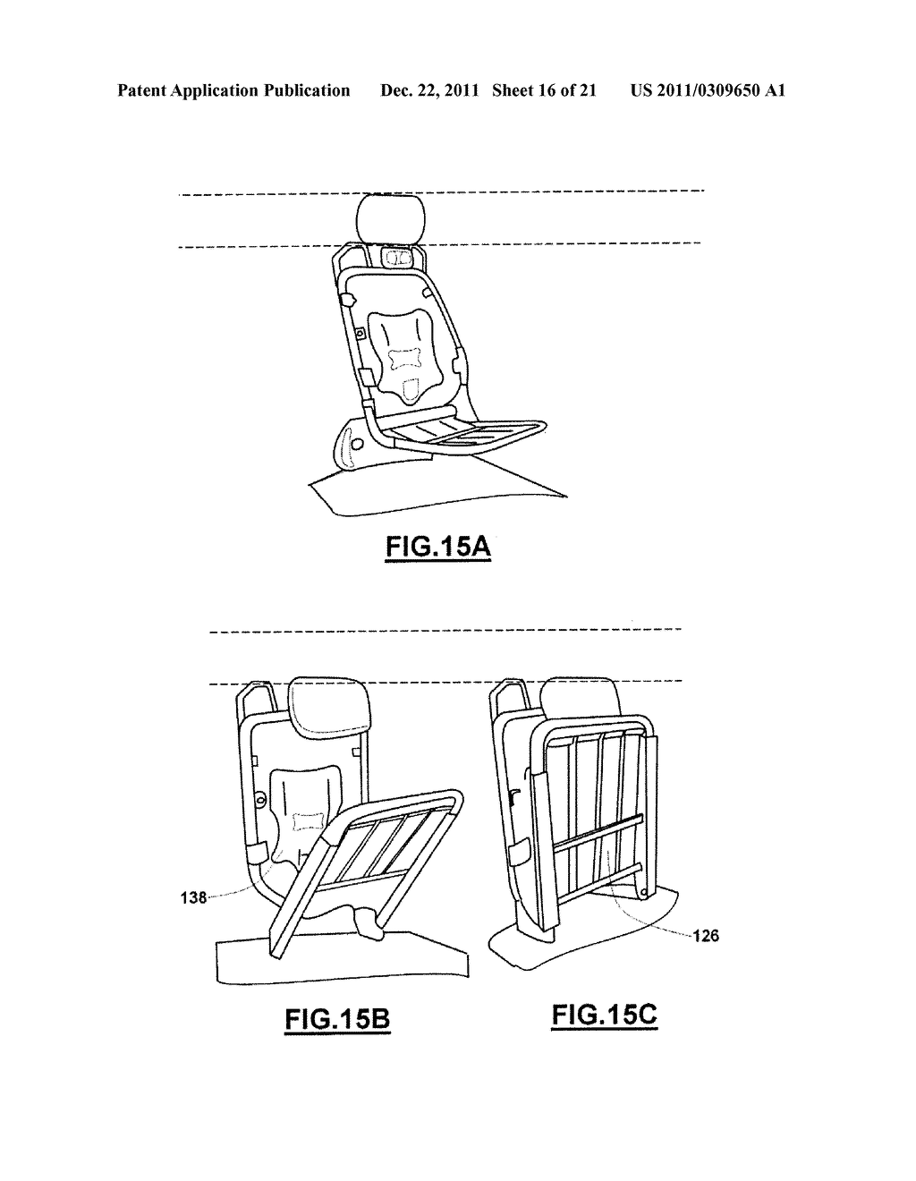 COLLAPSIBLE SEAT - diagram, schematic, and image 17