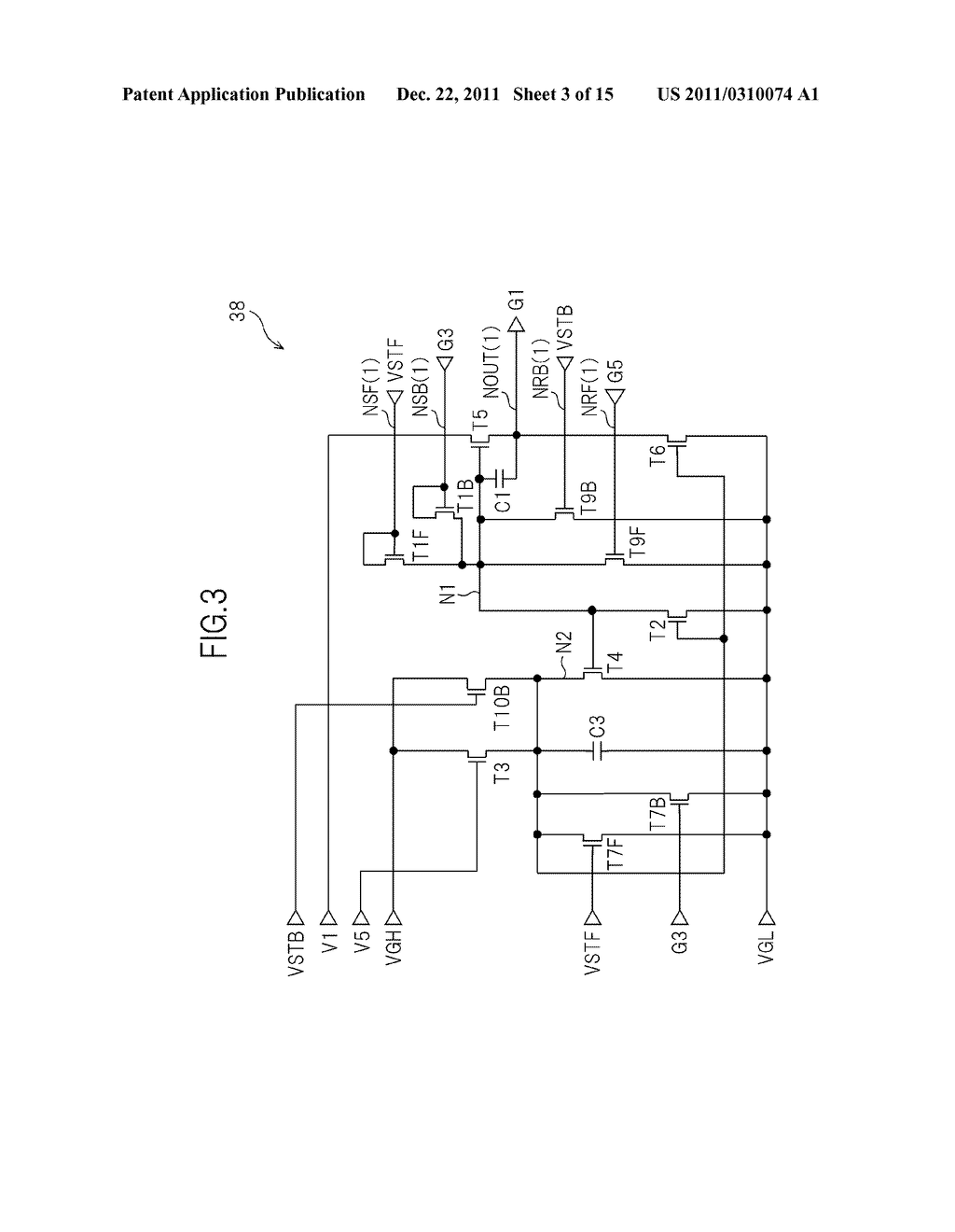 BIDIRECTIONAL SHIFT REGISTER AND IMAGE DISPLAY DEVICE USING THE SAME - diagram, schematic, and image 04
