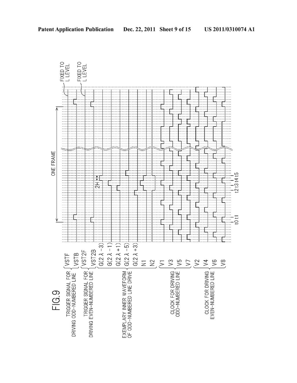 BIDIRECTIONAL SHIFT REGISTER AND IMAGE DISPLAY DEVICE USING THE SAME - diagram, schematic, and image 10
