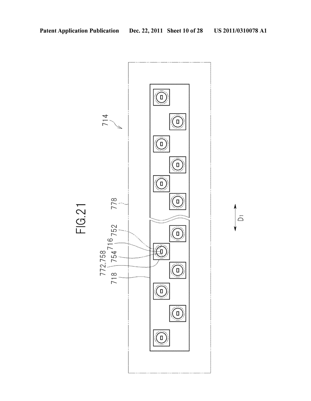 LIQUID CRYSTAL DISPLAY DEVICE AND TELEVISION SET - diagram, schematic, and image 11
