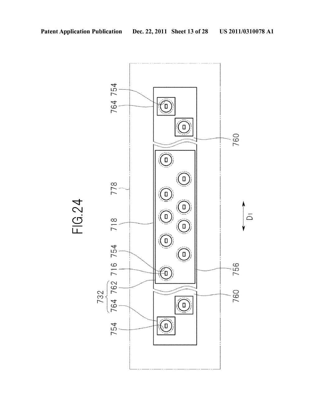 LIQUID CRYSTAL DISPLAY DEVICE AND TELEVISION SET - diagram, schematic, and image 14