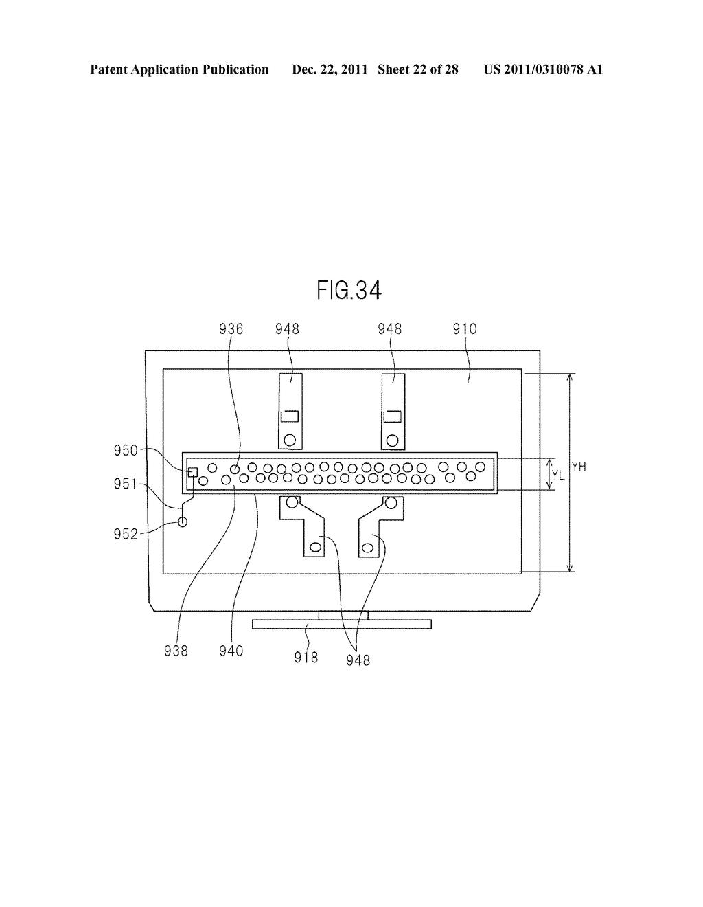 LIQUID CRYSTAL DISPLAY DEVICE AND TELEVISION SET - diagram, schematic, and image 23