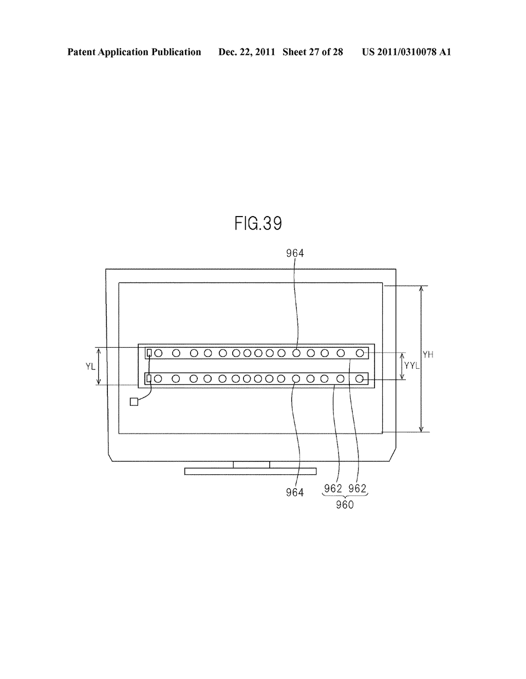 LIQUID CRYSTAL DISPLAY DEVICE AND TELEVISION SET - diagram, schematic, and image 28