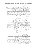 PRINTHEAD NOZZLE ARRANGEMENT WITH MAGNETIC PADDLE ACTUATOR diagram and image