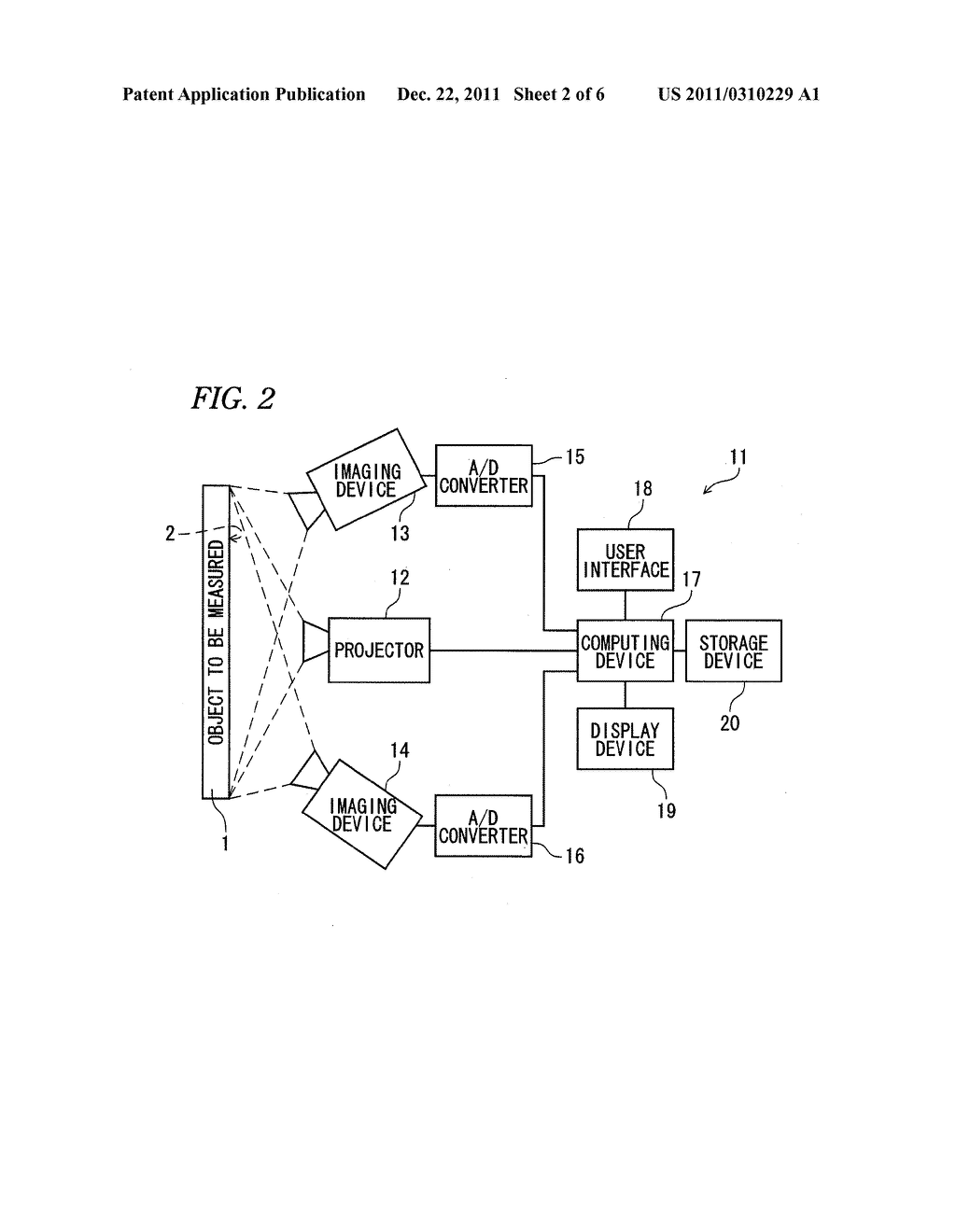 PROFILE MEASURING DEVICE, PROFILE MEASURING METHOD, AND METHOD OF     MANUFACTURING SEMICONDUCTOR PACKAGE - diagram, schematic, and image 03