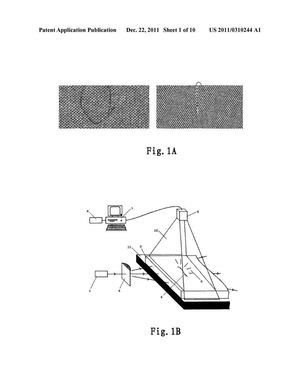 SYSTEM AND METHOD FOR DETECTING A DEFECT OF A SUBSTRATE - diagram, schematic, and image 02