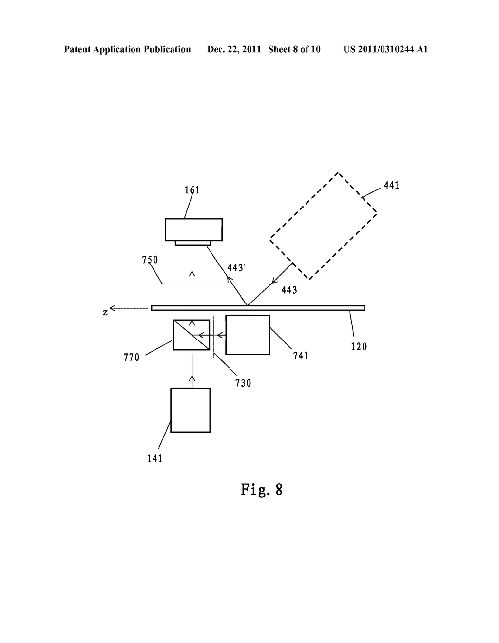 SYSTEM AND METHOD FOR DETECTING A DEFECT OF A SUBSTRATE - diagram, schematic, and image 09