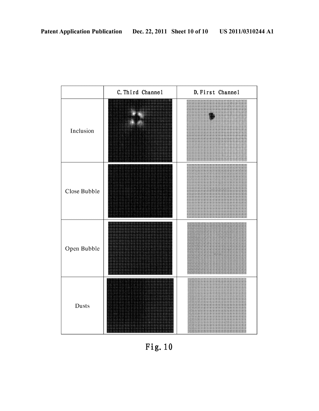 SYSTEM AND METHOD FOR DETECTING A DEFECT OF A SUBSTRATE - diagram, schematic, and image 11
