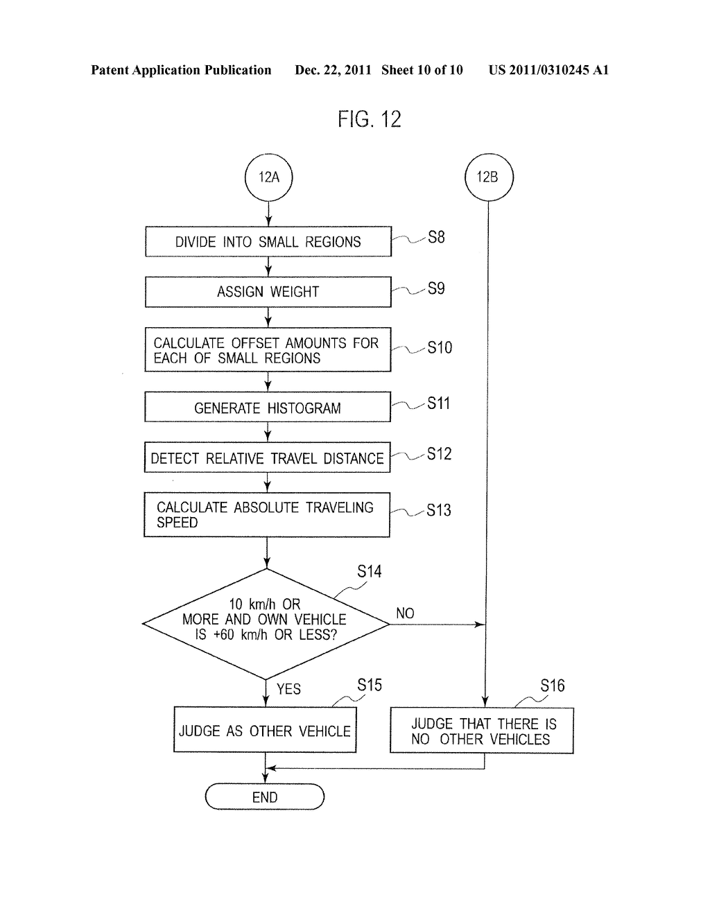 TRAVEL DISTANCE DETECTION DEVICE AND TRAVEL DISTANCE DETECTION METHOD - diagram, schematic, and image 11