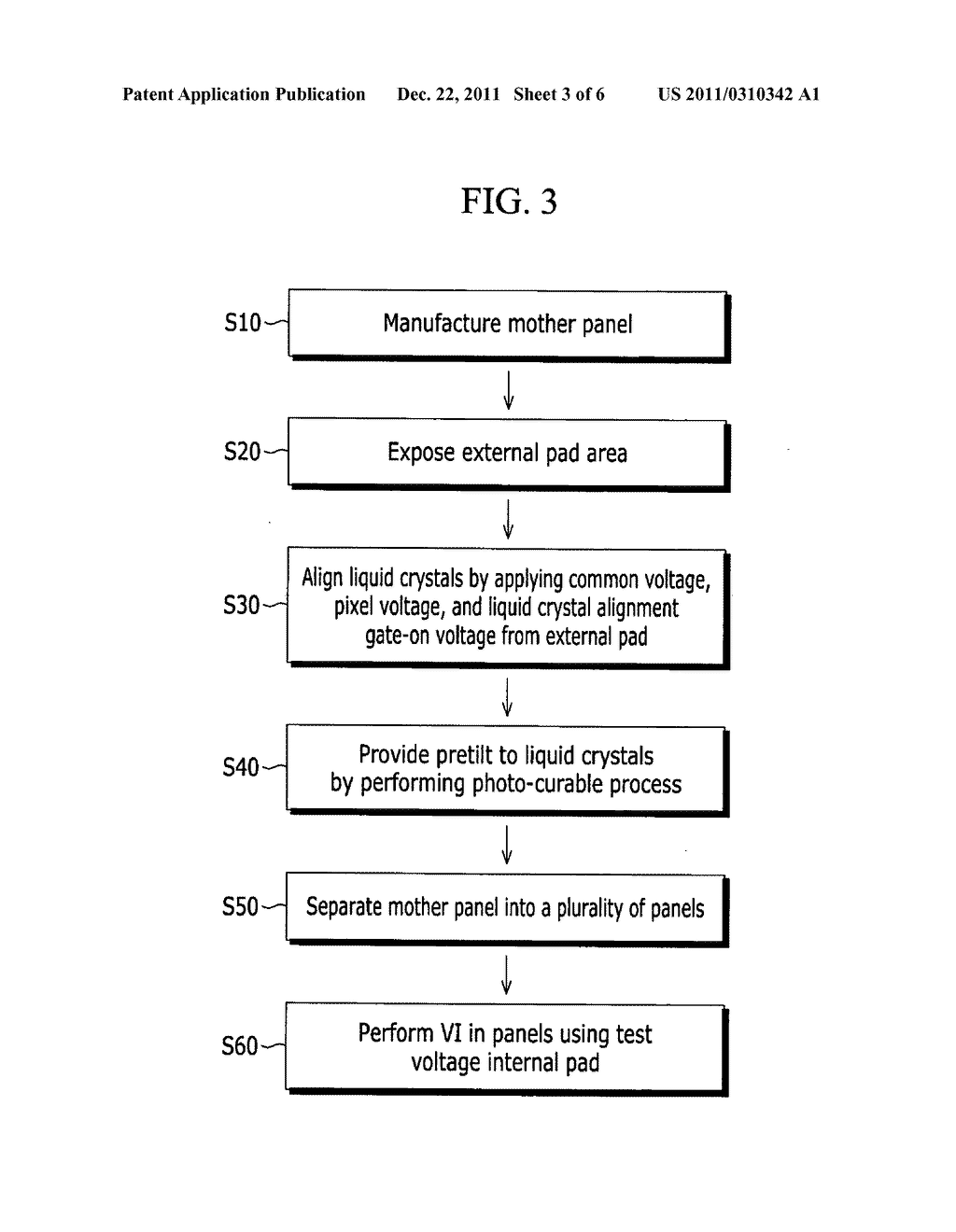 Mother panel of liquid crystal display and method of manufacturing liquid     crystal display using the same - diagram, schematic, and image 04