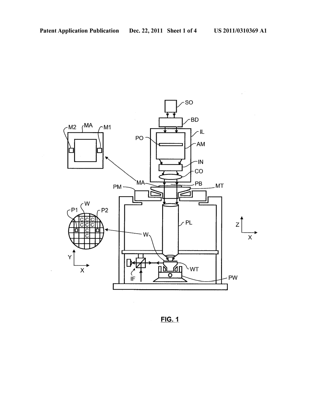 LITHOGRAPHIC METHOD AND APPARATUS - diagram, schematic, and image 02
