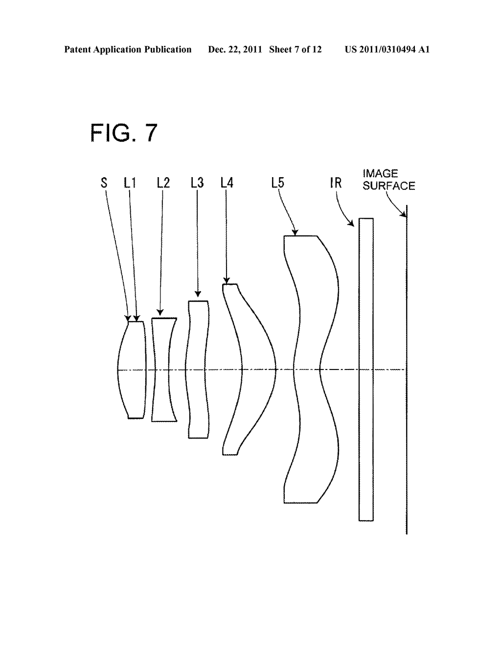 IMAGE PICKUP LENS FOR SOLID-STATE IMAGE PICKUP ELEMENT - diagram, schematic, and image 08
