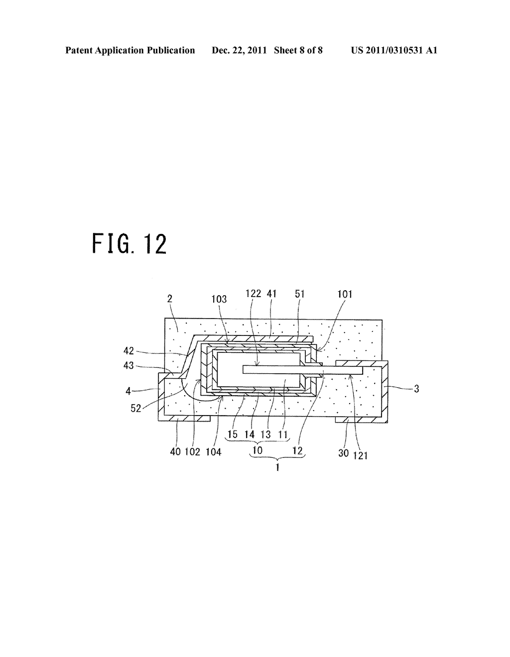SOLID ELECTROLYTIC CAPACITOR AND METHOD OF MANUFACTURING THE SAME - diagram, schematic, and image 09