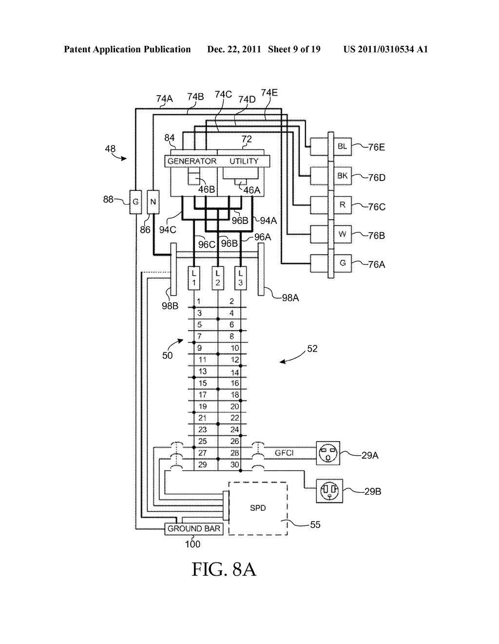 Panelboard Enclosure With Installable Panelboard Assembly - diagram,  schematic, and image 10