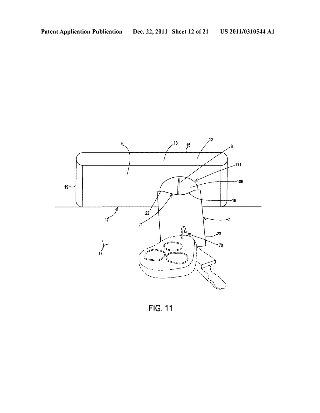 Coupling Systems for Removably Coupling a Support Beam to an Electronic     Device and Methods of Making and Using the Same - diagram, schematic, and image 13