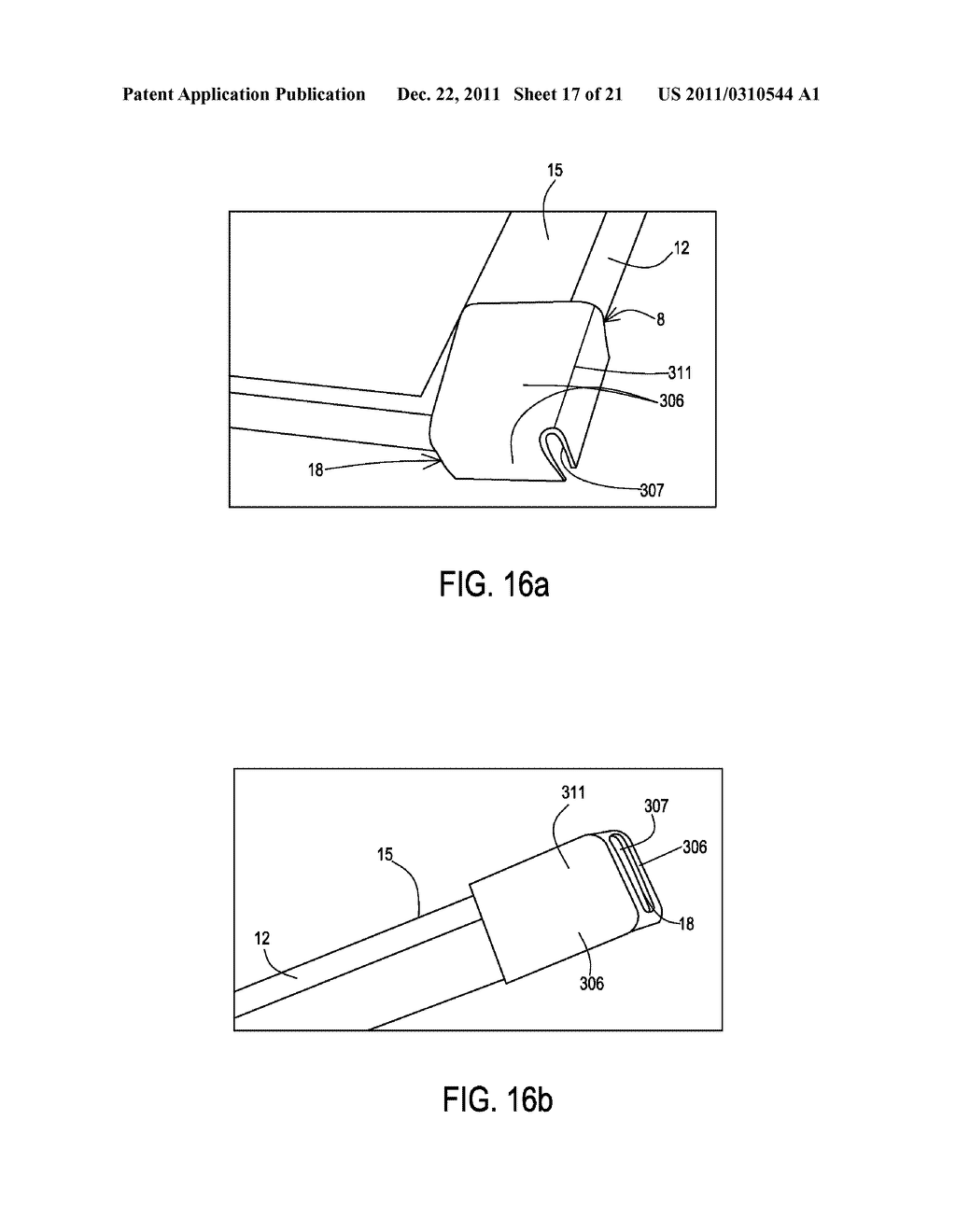 Coupling Systems for Removably Coupling a Support Beam to an Electronic     Device and Methods of Making and Using the Same - diagram, schematic, and image 18