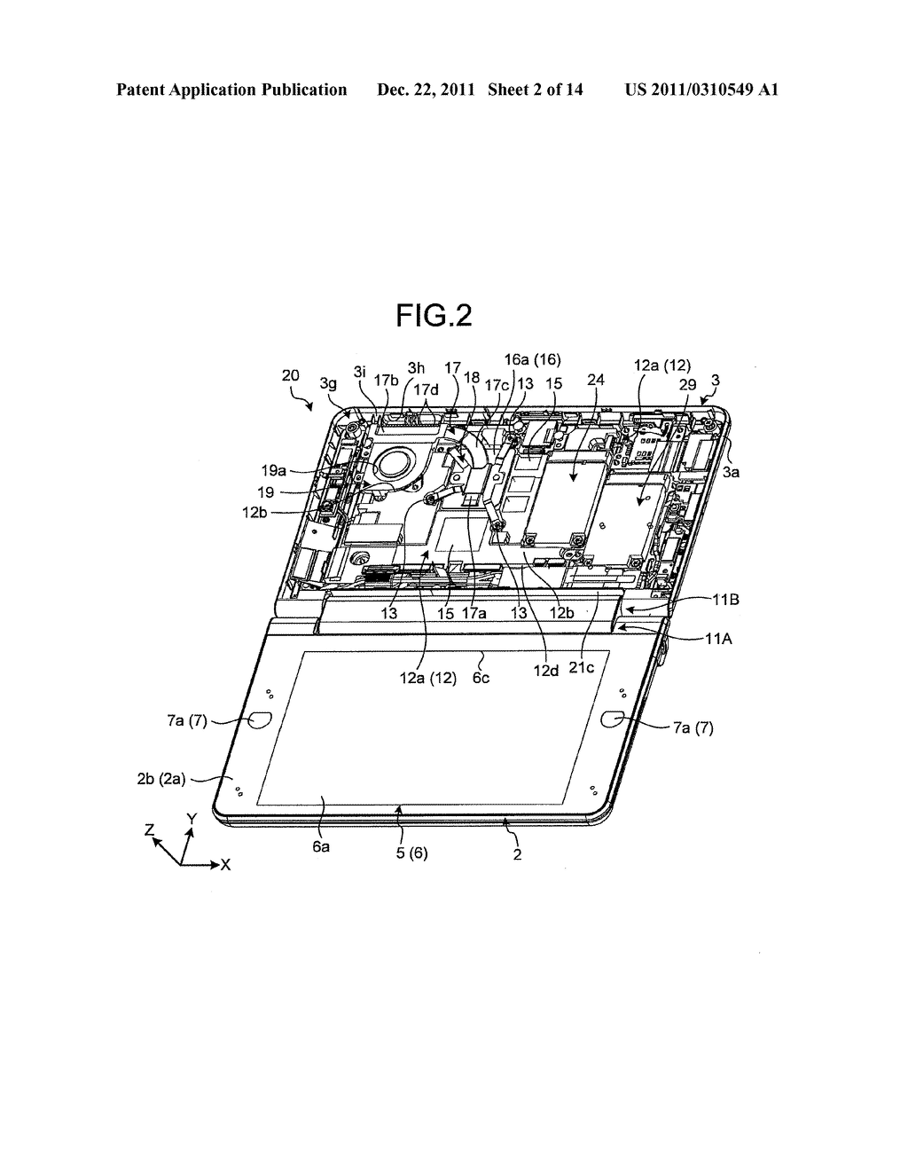 MOBILE PERSONAL COMPUTER AND ELECTRONIC DEVICE - diagram, schematic, and image 03