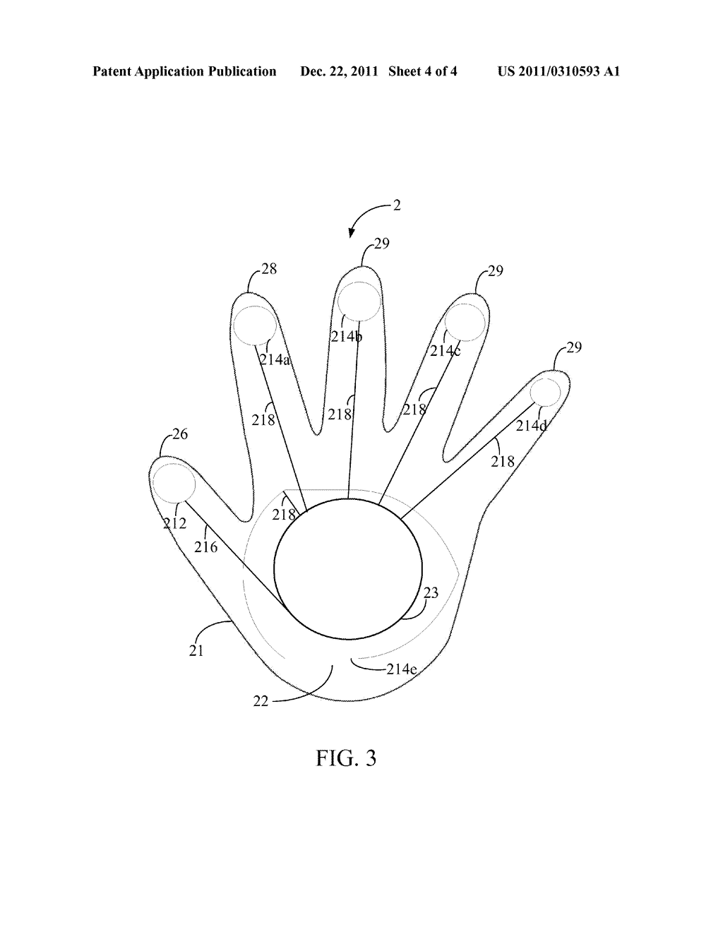LIGHT EMITTING GLOVE - diagram, schematic, and image 05