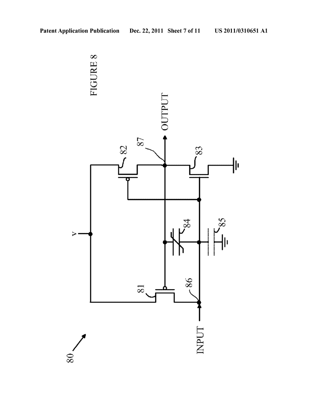 Variable Impedance Circuit Controlled by a Ferroelectric Capacitor - diagram, schematic, and image 08
