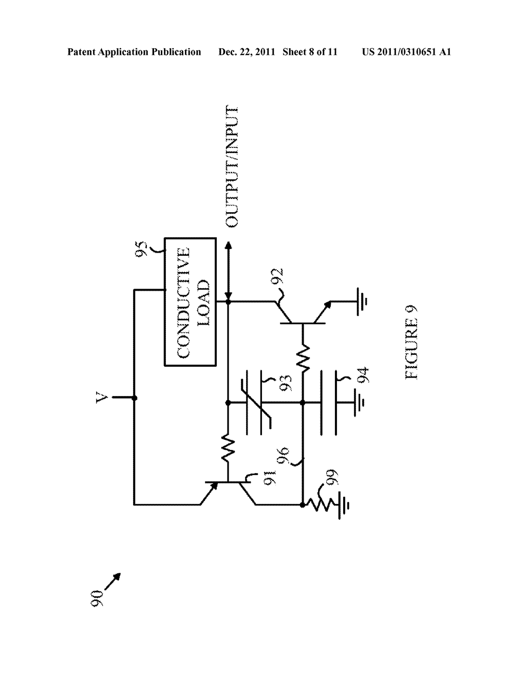 Variable Impedance Circuit Controlled by a Ferroelectric Capacitor - diagram, schematic, and image 09