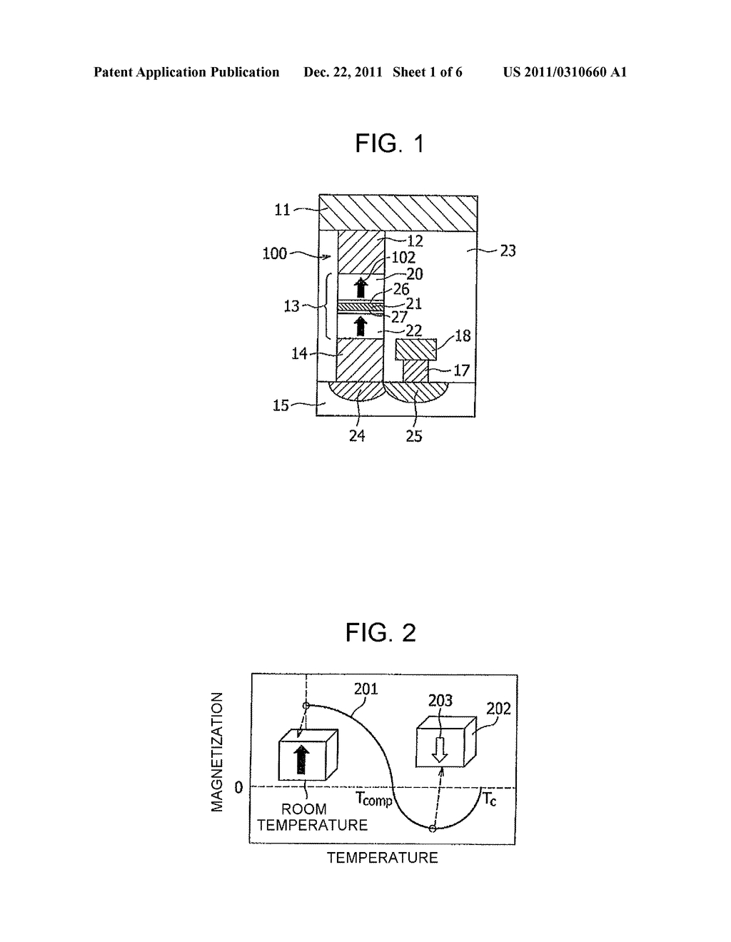 MAGNETORESISTANCE ELEMENT AND STORAGE DEVICE USING THE SAME - diagram, schematic, and image 02