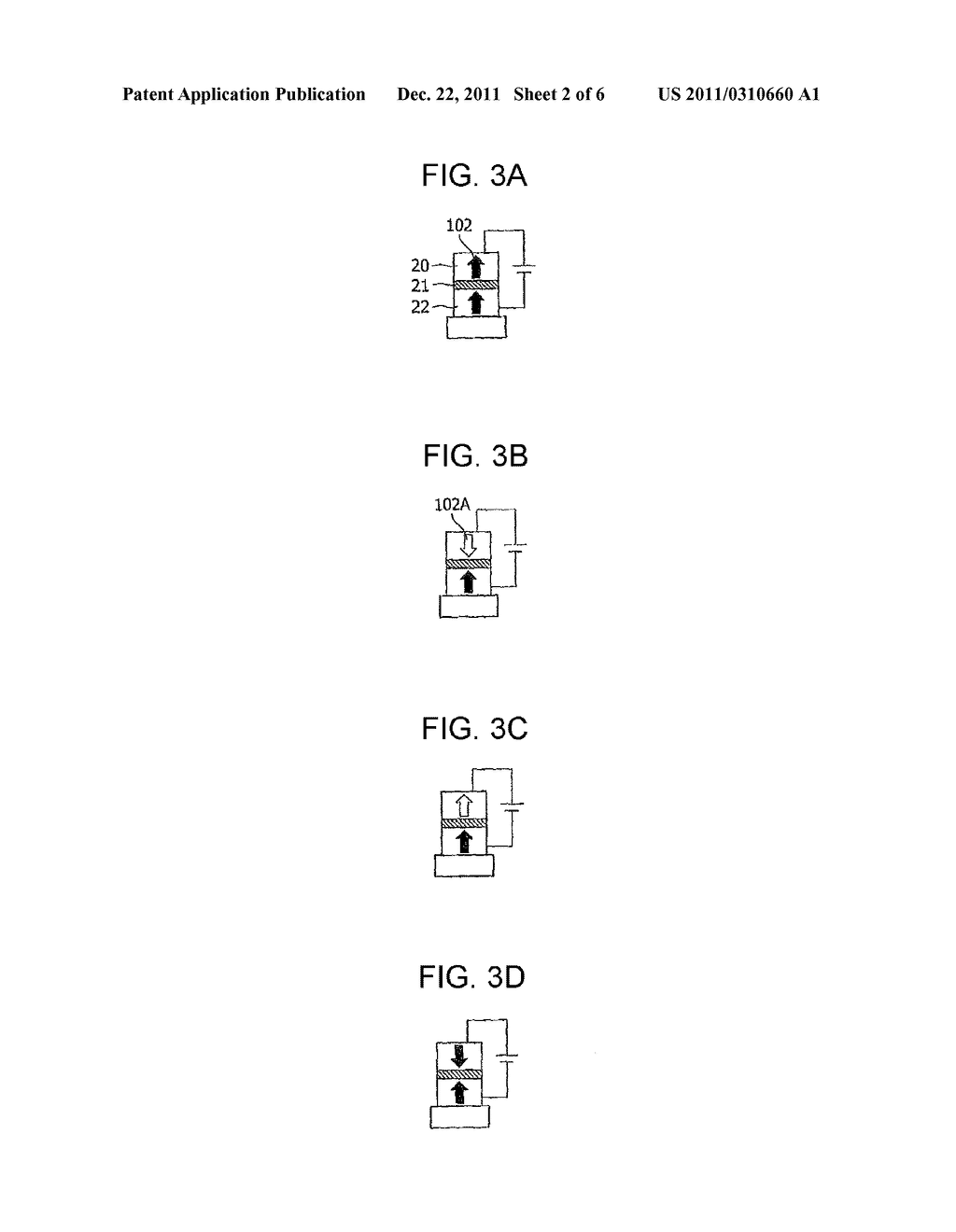 MAGNETORESISTANCE ELEMENT AND STORAGE DEVICE USING THE SAME - diagram, schematic, and image 03