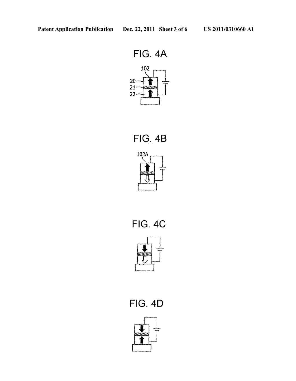 MAGNETORESISTANCE ELEMENT AND STORAGE DEVICE USING THE SAME - diagram, schematic, and image 04