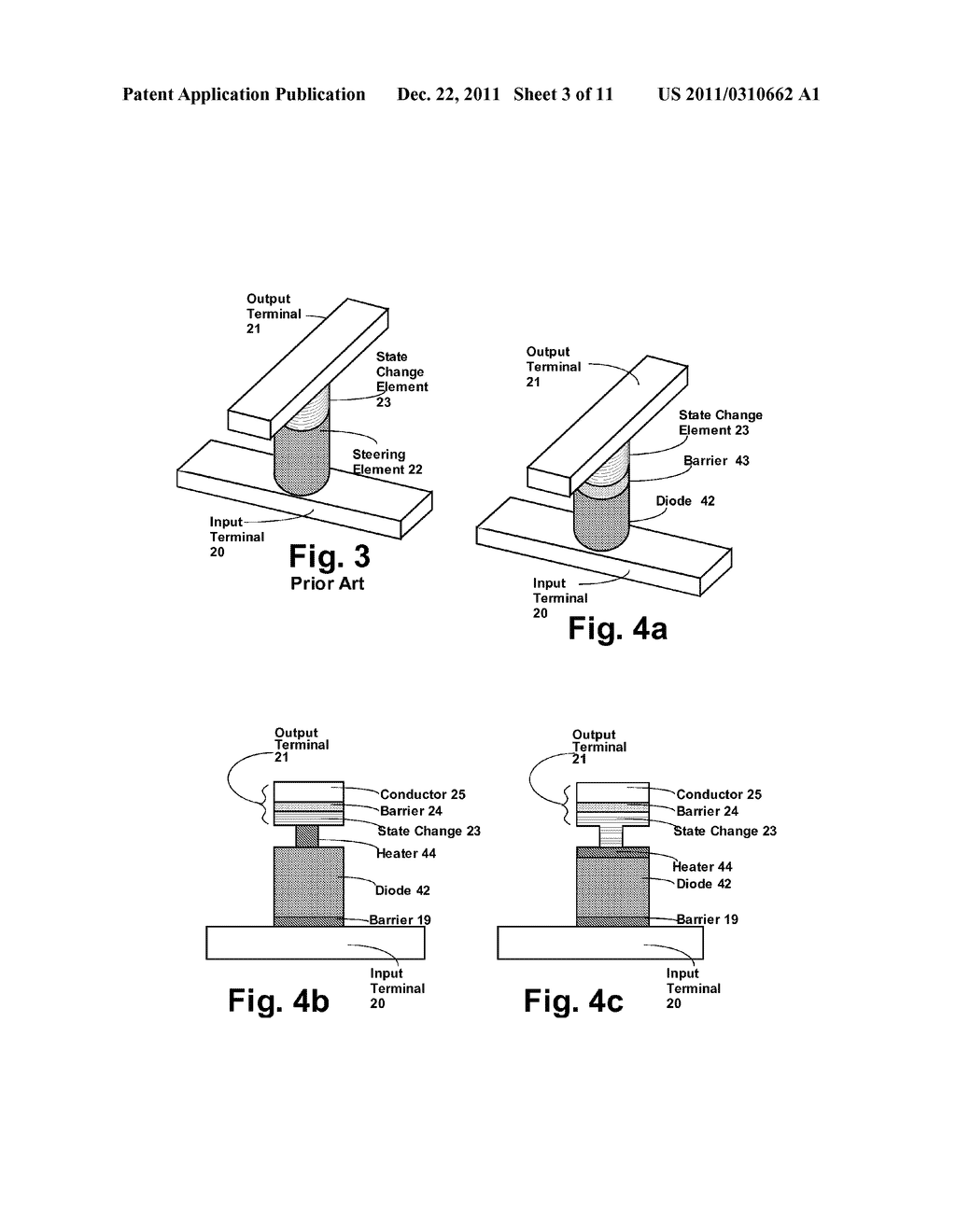 STRUCTURE AND METHOD FOR BIASING PHASE CHANGE MEMORY ARRAY FOR RELIABLE     WRITING - diagram, schematic, and image 04