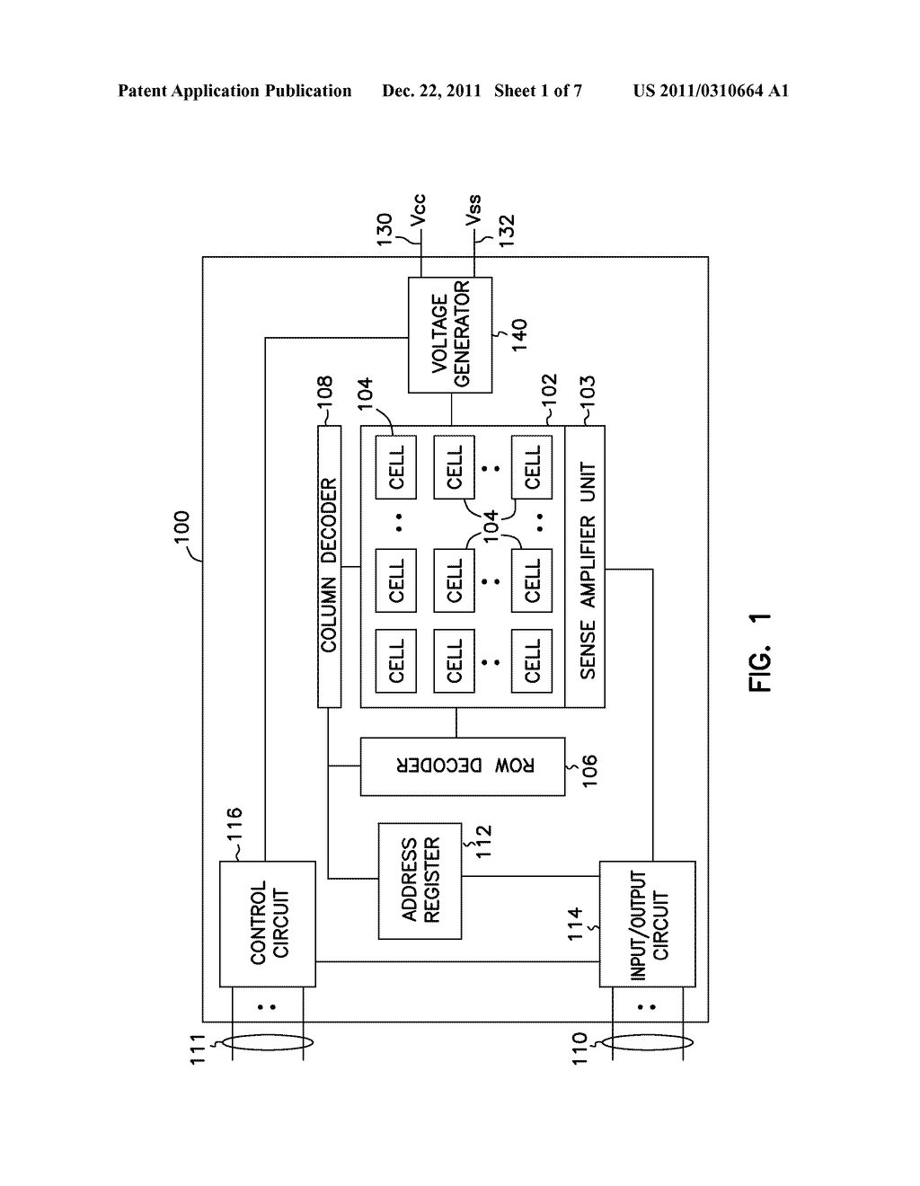NON-VOLATILE MEMORY APPARATUS AND METHODS - diagram, schematic, and image 02
