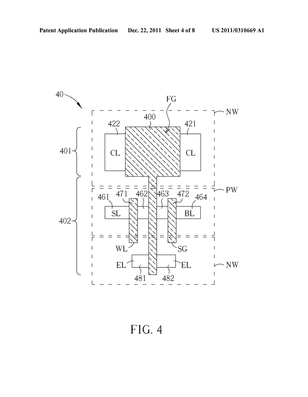 Logic-Based Multiple Time Programming Memory Cell - diagram, schematic, and image 05
