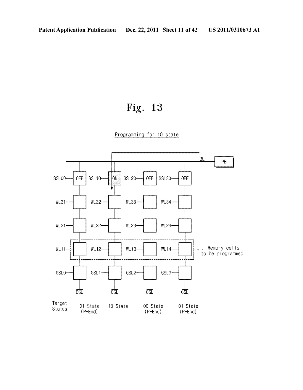 MULTI-PAGE PROGRAM METHOD, NON-VOLATILE MEMORY DEVICE USING THE SAME, AND     DATA STORAGE SYSTEM INCLUDING THE SAME - diagram, schematic, and image 12