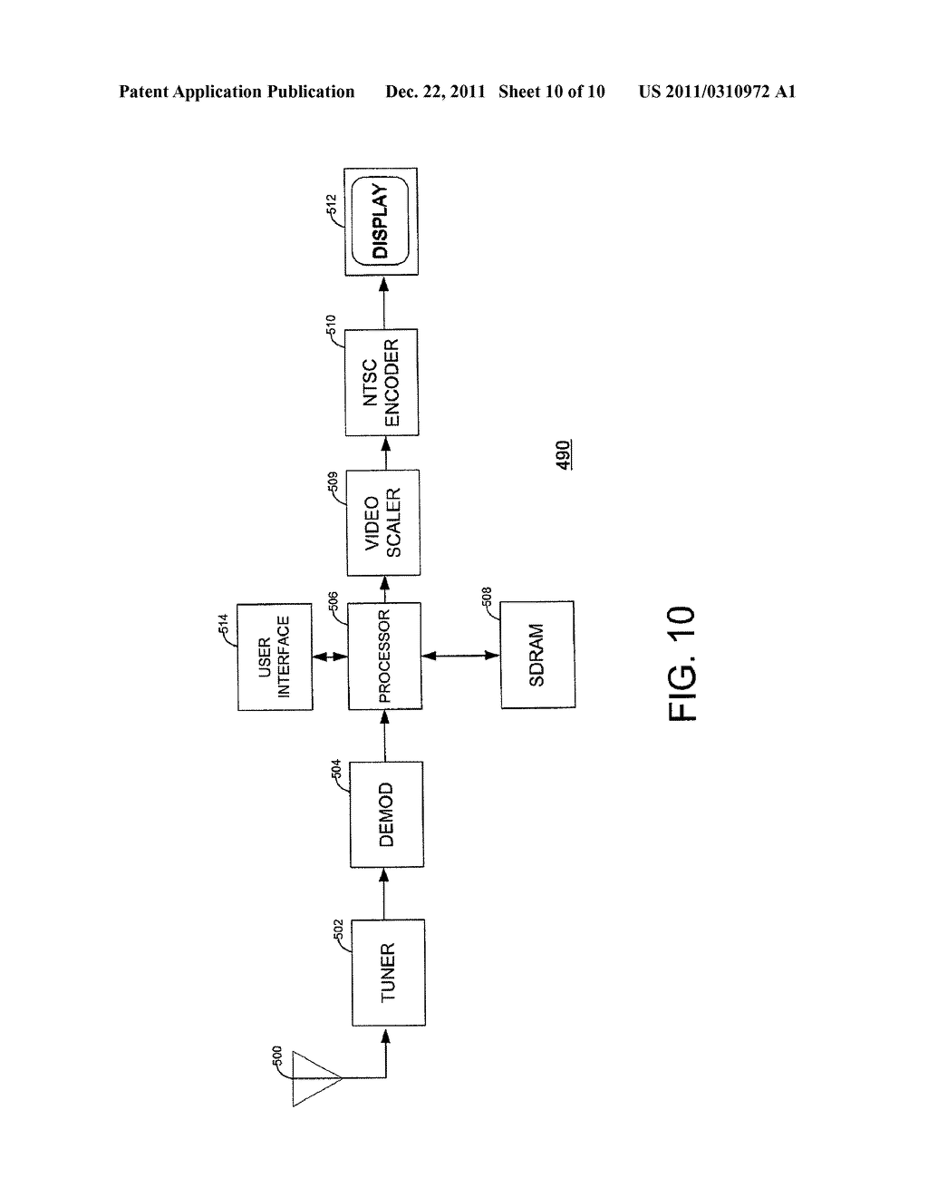 SYSTEM AND METHOD FOR GENERATING DECODED DIGITAL VIDEO IMAGE DATA - diagram, schematic, and image 11